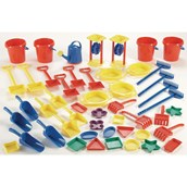 Giant Sand and Water Activity Set - Pack of 45