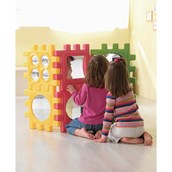 WePlay Reflective Cube - set of 6 giant tiles
