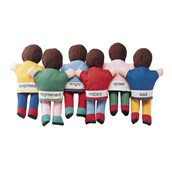 Emotions Hand Puppets - Pack of 6