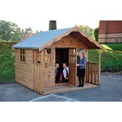 Children's  Cottage Playhouse - With Installation