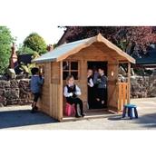 Children's Den Playhouse - With Installation