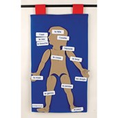 My Body French Vocabulary Wall Hanging