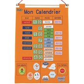 My Calendar French Wall Hanging