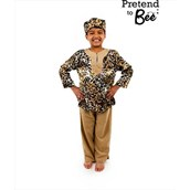 Multicultural Costumes - Printed tunic with hat and trousers - 3-5 Years