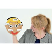 Make a Face Puppets - Spanish