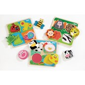 Bigjigs Toys Touch and Feel Puzzles