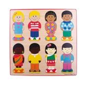 Bigjigs Toys Little Friends Puzzle