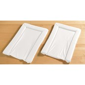 East Coast Nursery Essentials White Baby Changing Mats - Pack of 2