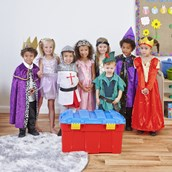Fairytale Dressing Up Chest - Pack of 8