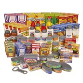 75 Piece Supermarket Play Food Pack