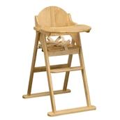 East Coast Nursery Folding Wooden Highchair