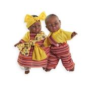 Children of the World Soft-bodied Dolls: Jamilla and Zane
