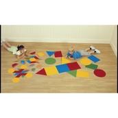Floor Basic Shapes - Pack of 16