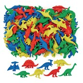 Dinosaur Counters - Pack of 128