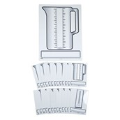 Drywipe Measuring Boards - Pupil