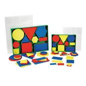Geometric Plastic Shapes - Small - Pack of 60