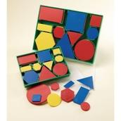 Geometric Plastic Shapes - Large - Pack of 60