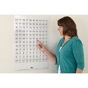 Double-sided Dry-wipe Counting Board - Teacher