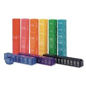 Rainbow Fractions Towers Equivalency Set