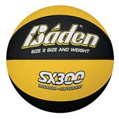 Baden SX300 Basketball - Yellow/Black - Size 3