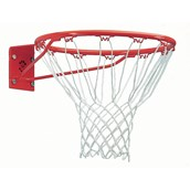 Sure Shot Basketball Ring and Net Set - Red/White