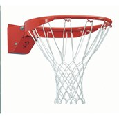 Sure Shot Heavy-Duty Flex Ring and Net Set - Red/White