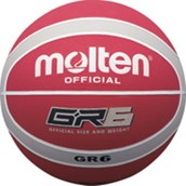 Molten BGR Basketball - Red/Silver - Size 5