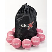Molten PRV-1 Non-Sting Volleyballs - Pink - Size 5 - Pack of 12