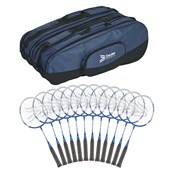 Davies Sports Shorty Badminton Racquet - Blue - 22in - Pack of 12