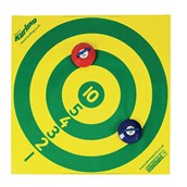 New Age Kurling Numbered Target - Yellow/Green - 120cm