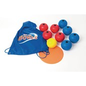 New Age Bowls Set - Blue/Red