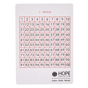 Write-On/Wipe-Off 100 Squares - Pack of 35