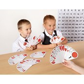 Fraction Number Fans Class Pack