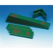 Table Cricket Side Panels Set - Green - Pack of 16
