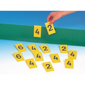 Table Cricket Score Set - Yellow - Pack of 13