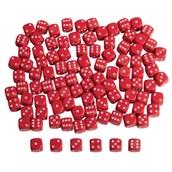 Red Plastic Dice