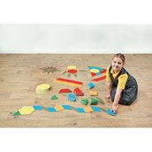 Floor Tessellating Shapes - Pack of 120