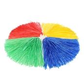 Cheerleader Pom Poms - Assorted - Pack of 4