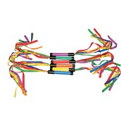Ribbon Wands - Assorted - Pack of 6