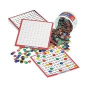 Pupil Dry-Wipe Boards and Tub of Counters Classpack