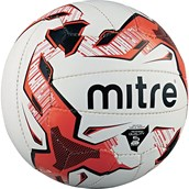 Mitre Tactic Football - White/Red/Black - Size 4