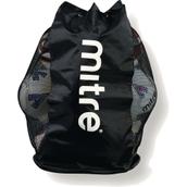 Mitre Mesh-Panelled 12 Ball Bag - Black/White
