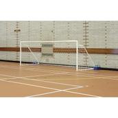 Harrod Sport Fold-Away Five-A-Side Goal - White - 16 x 4ft - Pair