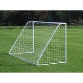 Harrod Sport Mini Soccer Goal- White - 12 x 6ft - Pair