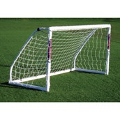 Samba Match Goal - White - 8 x 4ft