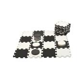 Draughts Set - Black/White