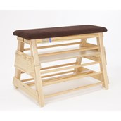 Niels Larsen Ribbed Bar Box (Without Transport Gear) - Wood - 91cm