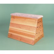 Niels Larsen Vaulting Box (Without Transport Gear) - Wood - 102cm