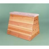 Niels Larsen Vaulting Box (With Transport Gear) - Wood - 127cm