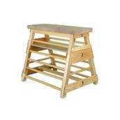 Niels Larsen Ribbed Bar Box (With Transport Gear) - Wood - 91cm
